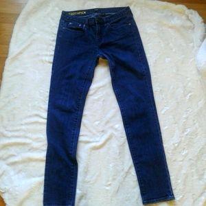 J Crew toothpick women's jeans size 27